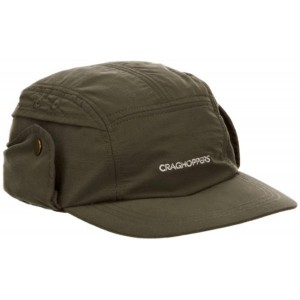 Craghoppers Olive Nosilife Desert Cap For Men