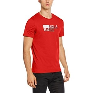 Craghoppers Red BG Printed T-Shirt For Men