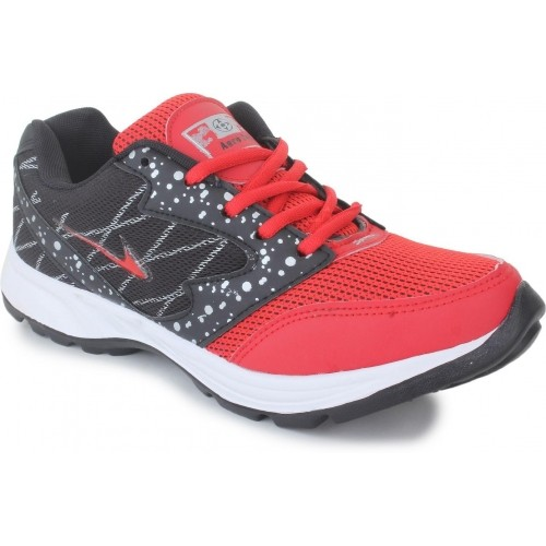 Aero fax Red & Black Cricket Shoes