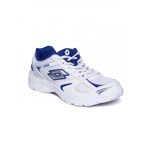 Lotto Men's White Low Ankle Running Shoes