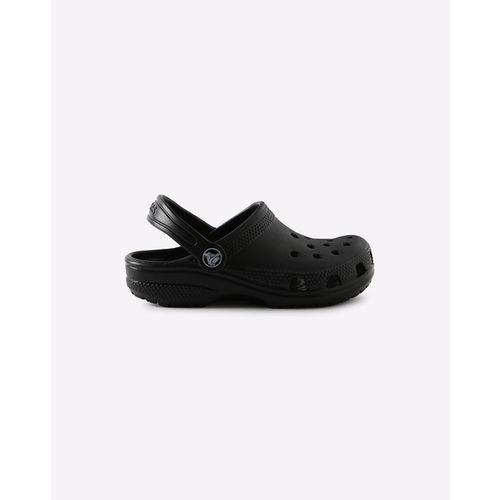 Crocs Ralen Black Rubber Solid Sandals