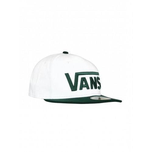 Buy Vans Men 59FIFTY White   Green New Era Cap online  c2d4add47