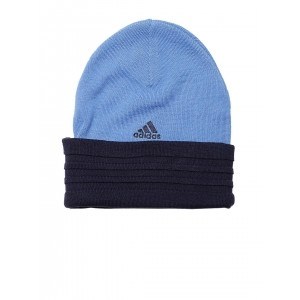 Adidas Unisex Blue PERF 3S Beanie