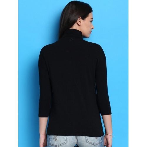 Desigual Black Printed T-shirt