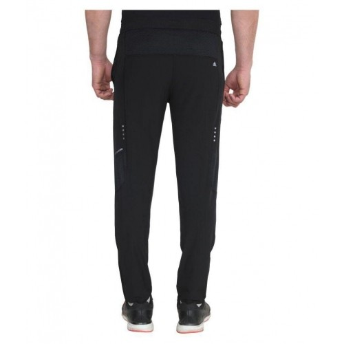 66dedb5341e4 Buy Adidas Black Polyester Lycra Trackpants online