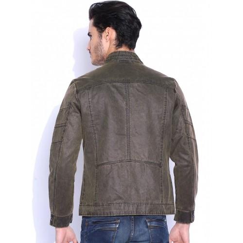 Flying Machine Brown Denim Jacket
