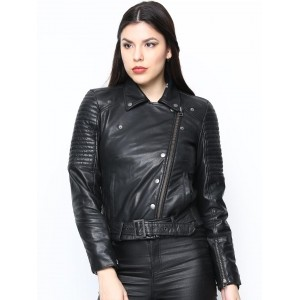 Bareskin Black Leather Women's Jacket