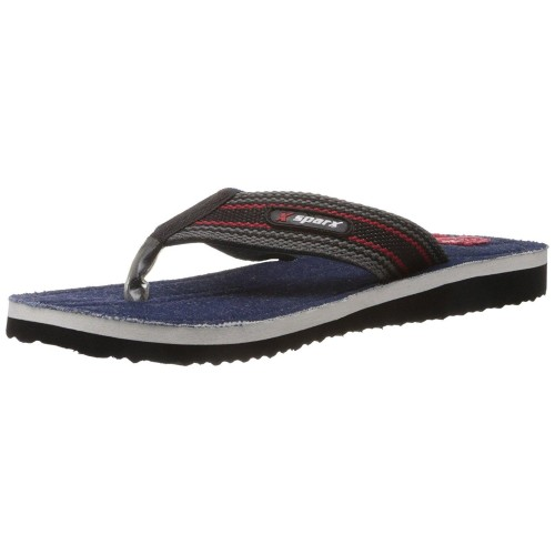 Sparx Men's Denim Flip-Flops and House Slippers