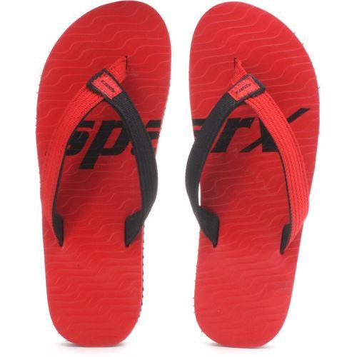 Sparx Red Flats Flip-Flop