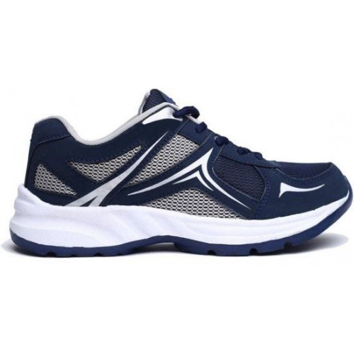 Mesha Density Navy Blue Printed Running Shoes