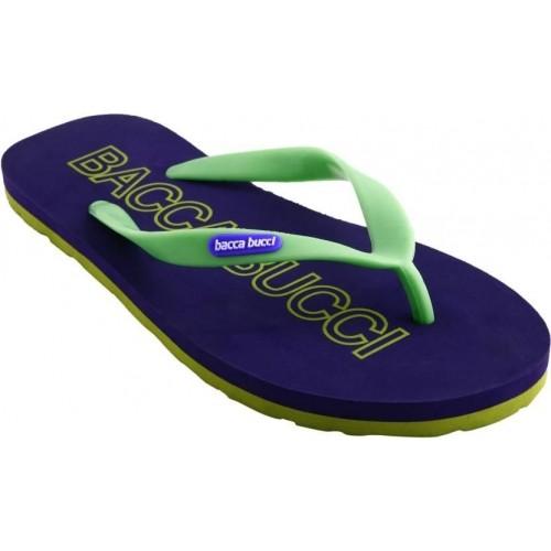 Bacca Bucci Blue & Green EVA Flip Flops