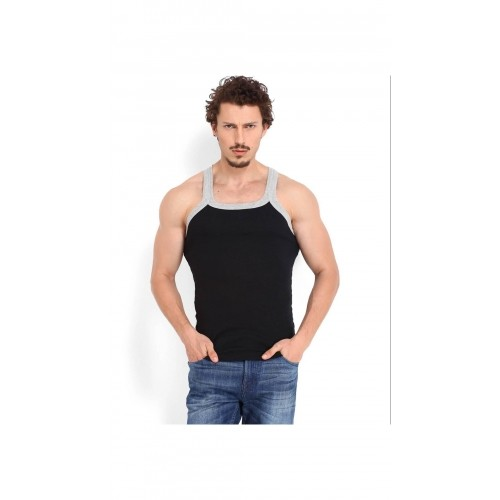ZIMFIT Solid Men's Gym Vest