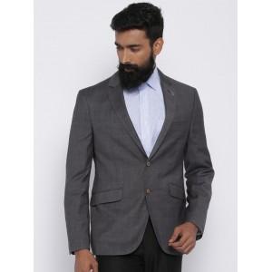 Van Heusen Grey Ultra Single-Breasted Formal Blazer
