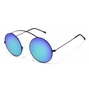 Vincent Chase Blue Round Sunglasses