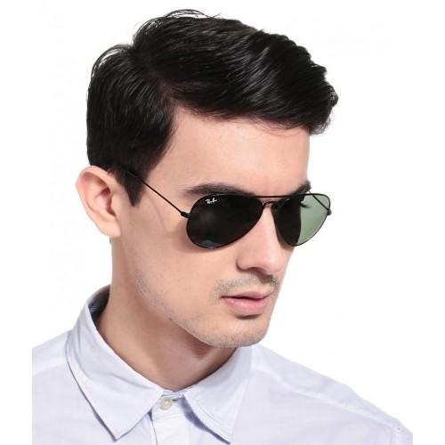 d132213f30 Buy Ray-Ban Green RB3025 004 58 58-14 Polarized Aviator Sunglasses ...