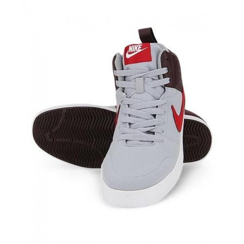 ... Nike Liteforce Iii Mid Gray Sneakers ...
