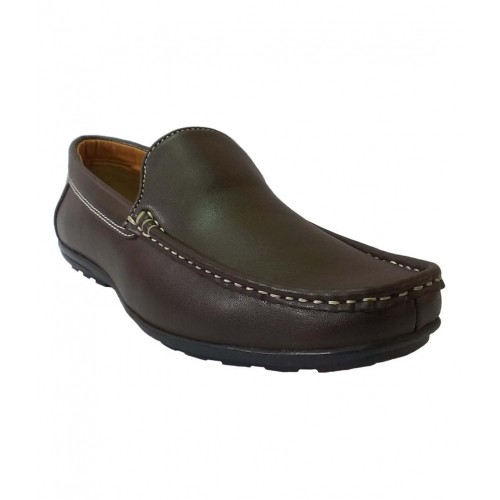 dab0932fd655 Buy Bata Brown Faux Leather Men S Formal Shoes online