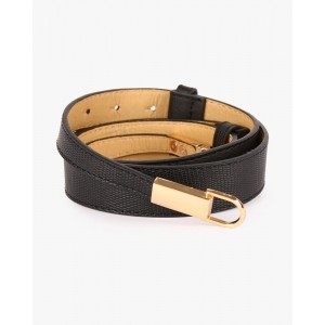 Tally Weijl Black Classic Belt with Hook Buckle