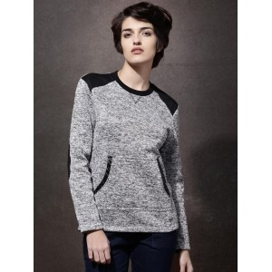 Roadster Grey Melange Grindle Sweatshirt
