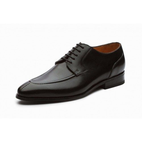 bb38da7ae48 Buy Dover Black Leather Derby Formal Shoes online   Looksgud.in