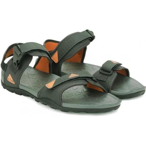 adidas sandals mens green