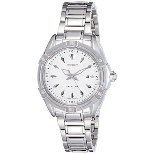 Seiko SXDF49P1 Silver Analog Watch