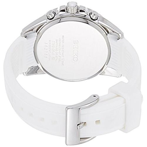 Seiko SNDX57P1 Silver Analog Chronograph Watch