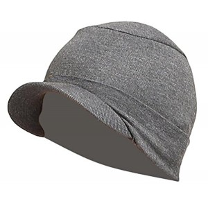 Gajraj Grey Cotton Caps For Men & Women