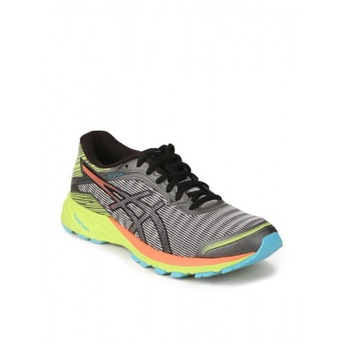 5ee25ffff1 Buy Asics Grey Rubber Lace Up Running Shoes online | Looksgud.in