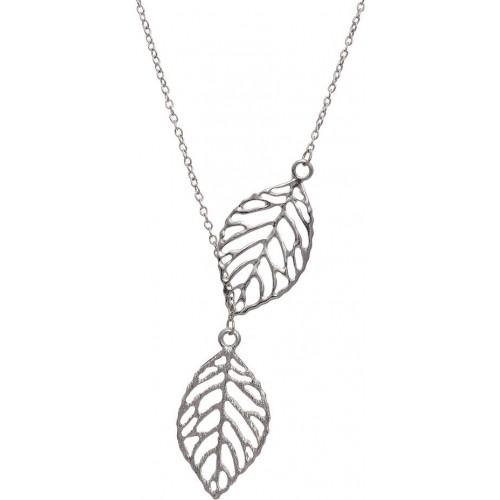 Aaishwarya Silver Alloy Necklace