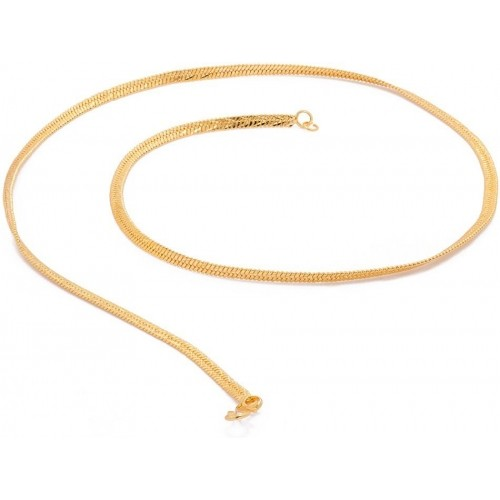 Voylla Artificial Golden Gold Plated Metal Chain