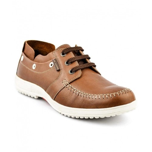 505a89555e0 Buy Lee Cooper Tan Casual Shoes online