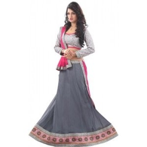 7 Colors Lifestyle Womens Embroidered Lehenga