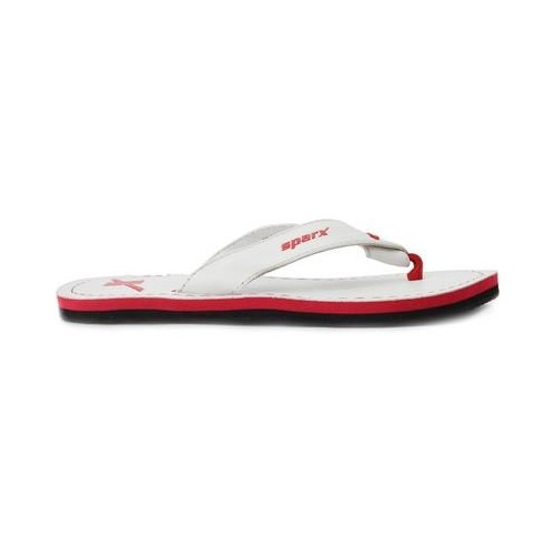 Buy Sparx White Rubber Slippers online