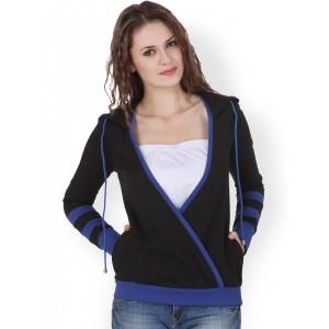 Texco Black Hooded Sweatshirt