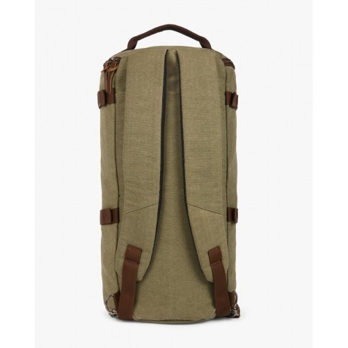 9418f83f40d1 Buy Ajio Olive Canvas Duffle Backpack online