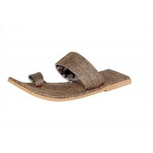 Panahi Men's Brown Square Sandals