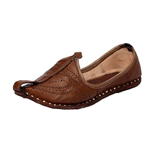 Weird Men's Coffee Leather Mojaris