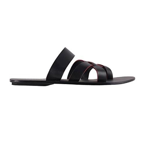Buy Mochi Men's Black Indian Footwear