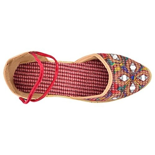 Trend Via Women's Multicolor Synthetic Mojaris