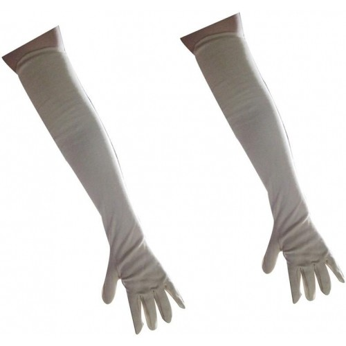 Aadishwar Creations Gray Cotton Solid Winter Gloves