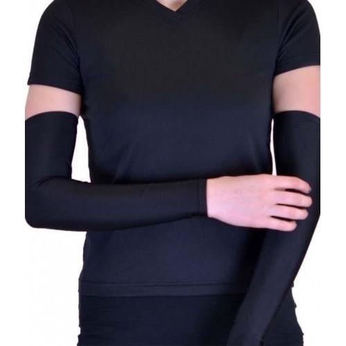 Aadishwar Creations Black Cotton Solid Protective Gloves