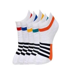 Marc Multicoloured Cotton Ankle Length Men's Socks Pack of 3