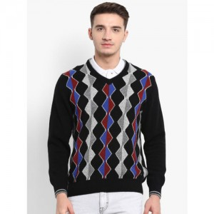 Monte Carlo Black Cotton Dyed Sweater