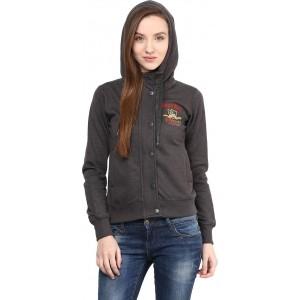 Okane Full Sleeve Solid Women's Sweatshirt