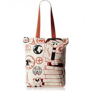 Kanvas Katha Cream Canvas Tote Bag