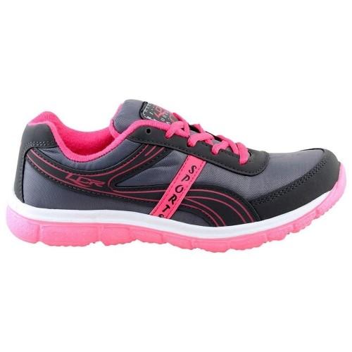 Lancer Women's Grey Pink Running Shoes