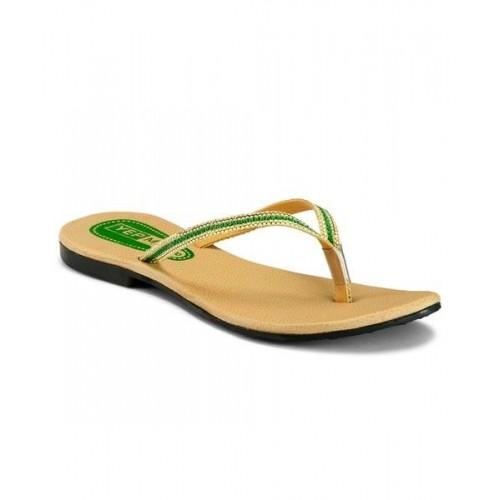 8b749af86c0c9 Buy Yepme Women's Beige & Green Chappals online | Looksgud.in