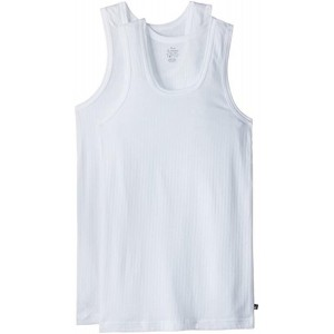 Jockey White Combed Cotton Vest (Pack of 2)