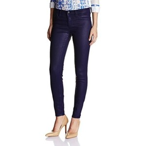 Gas Blue Cotton & Polyester Skinny Fit Jeans